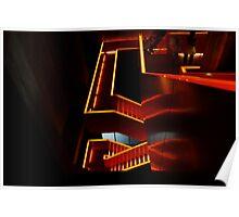 Stairs @ Zollverein Essen Poster