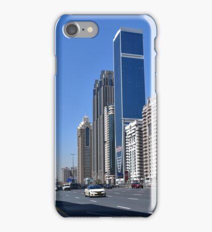 Dubai, Sheikh Zayed Road iPhone Case/Skin