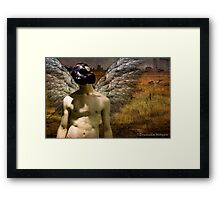 Yield of the Genetic Field Framed Print