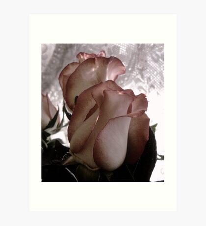 Through the Centuries.....The Rose Art Print