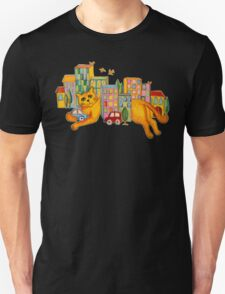 Catzilla Takes a Break T-Shirt