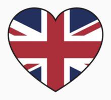 British at Heart....ROUND 2 Kids Tee