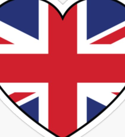 British at Heart....ROUND 2 Sticker
