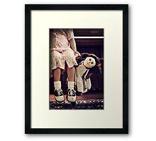 Raggedy's Haunt Framed Print