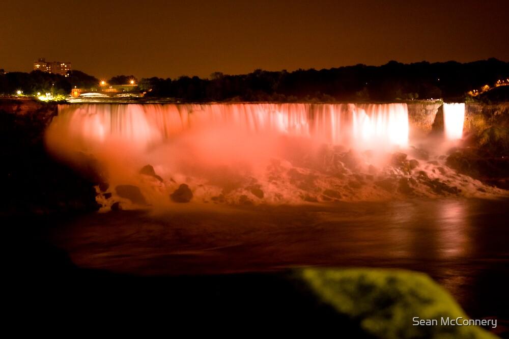 Falls at night by Sean McConnery