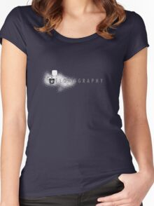 Lomography Women's Fitted Scoop T-Shirt
