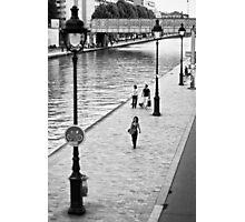 Balade à Paname Photographic Print