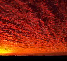 Blazing skies by Tony Middleton