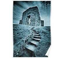 Ruined - Old Christchurch Castle Christchurch Dorset. Poster
