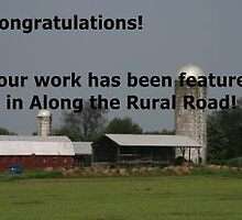 Along Rural Road Challenge Banner by Monnie Ryan