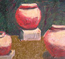 Egyptian Pots by Niki Hilsabeck