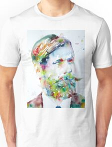 SIGMUND FREUD - watercolor portrait Unisex T-Shirt