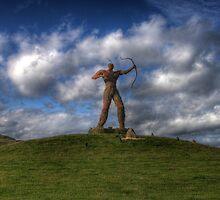 The Wickerman Longbow by Paul  Gibb