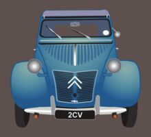 Citroën 2CV Blue (with gradients) Kids Clothes