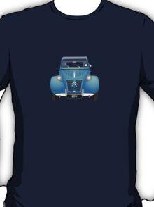 Citroën 2CV Blue (with gradients) T-Shirt