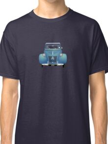 Citroën 2CV Blue (with gradients) Classic T-Shirt