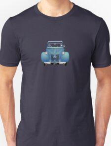 Citroën 2CV Blue (with gradients) Unisex T-Shirt