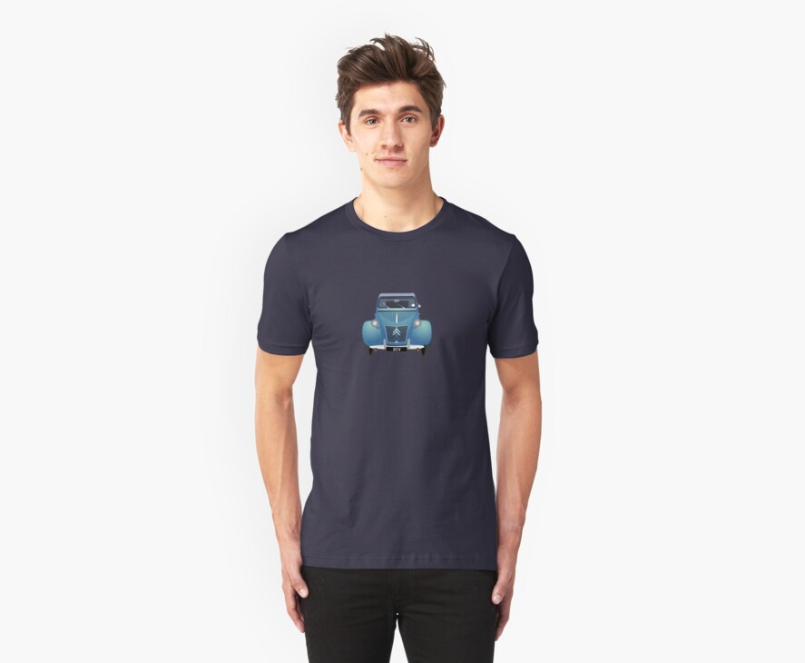 Citroën 2CV Blue (with gradients) by MangaKid