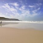 """""""Can't Wait"""" - Surfers at play on Perranporth beach Cornwall by silvcurl09"""