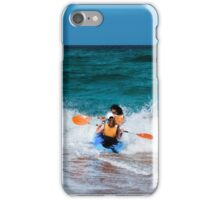 Only to overcome the wave iPhone Case/Skin
