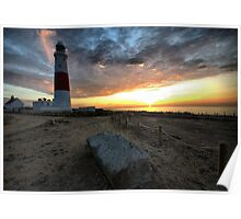 Portland Bill Lighthouse - Portland Dorset Poster