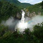 San Rafael Falls - Ecuador by Peter Zentjens