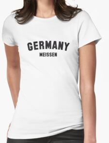 GERMANY MEISSEN Womens Fitted T-Shirt