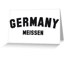 GERMANY MEISSEN Greeting Card