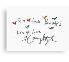 Lots of love  Canvas Print