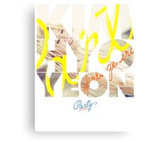 Girls' Generation (SNSD) Kim Hyoyeon 'Party' Canvas Print