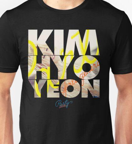 Girls' Generation (SNSD) Kim Hyoyeon 'Party' Unisex T-Shirt