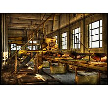 Industrielle Landschaft i Photographic Print