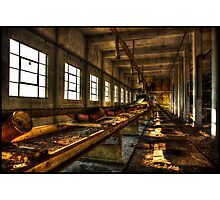 Industrielle Landschaft ii Photographic Print