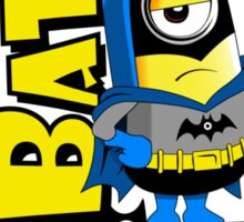 Minions super hero Sticker