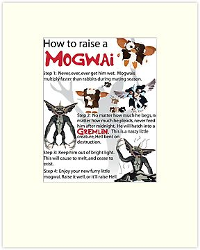 How to Raise a Mogwai by Toon-Alchemist
