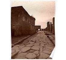Pompei - una citta romana Poster