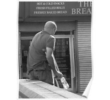 Random Bread Man Poster