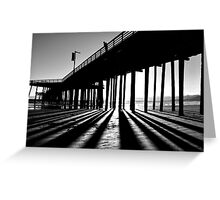 In The Light, Seeing The Shadows Greeting Card
