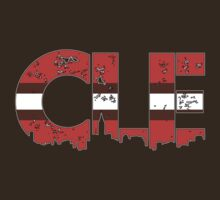 "Cleveland, Ohio ""CLE"" Browns Shirts, Stickers, Mugs, More by Kenneth Krolikowski"