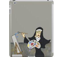 Wildago's Painting Nun iPad Case/Skin