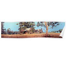 Overgrown Ruins of Tintinhull Inn, Tintinhull, NSW, Australia. Poster