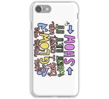 DEMI LOVATO SKYSCRAPER LYRICS ART iPhone Case/Skin