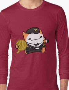 Battle Block Theater Cat Long Sleeve T-Shirt