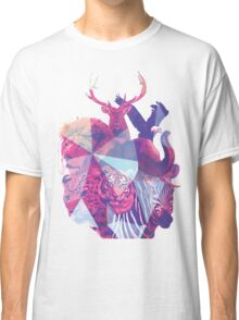 Animal Collage  Classic T-Shirt