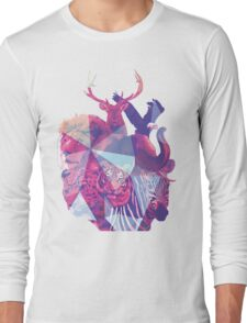 Animal Collage  Long Sleeve T-Shirt