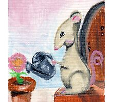 Miss Mouse Tends House by Amy-Elyse Neer