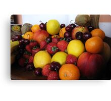 Future Fruit Salad Canvas Print