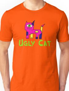 Ugly Cat (Girl) Unisex T-Shirt