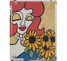 Wildago's Sunflower Pearl iPad Case/Skin