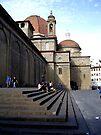 Street Scene in Florence by John Carpenter